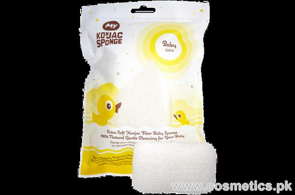 My Konjac Baby Bath Sponge
