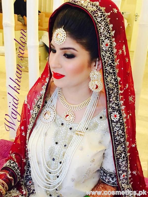 Wajid khan beauty salon real bride 5 for Actual beauty salon