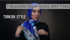 7 Hijab Styles 2015 On DailyMotion