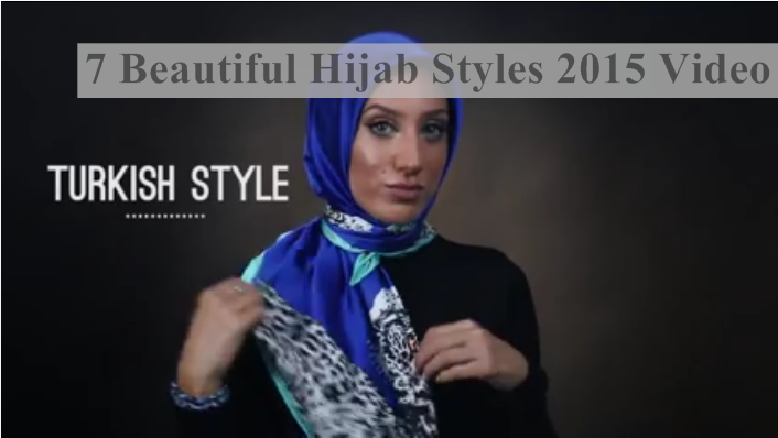 7 Hijab Styles 2015 On DailyMotion