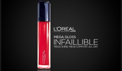 L'Oreal Paris Infallible Mega Gloss 002
