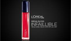 L'Oreal Paris Infallible Mega Gloss 002