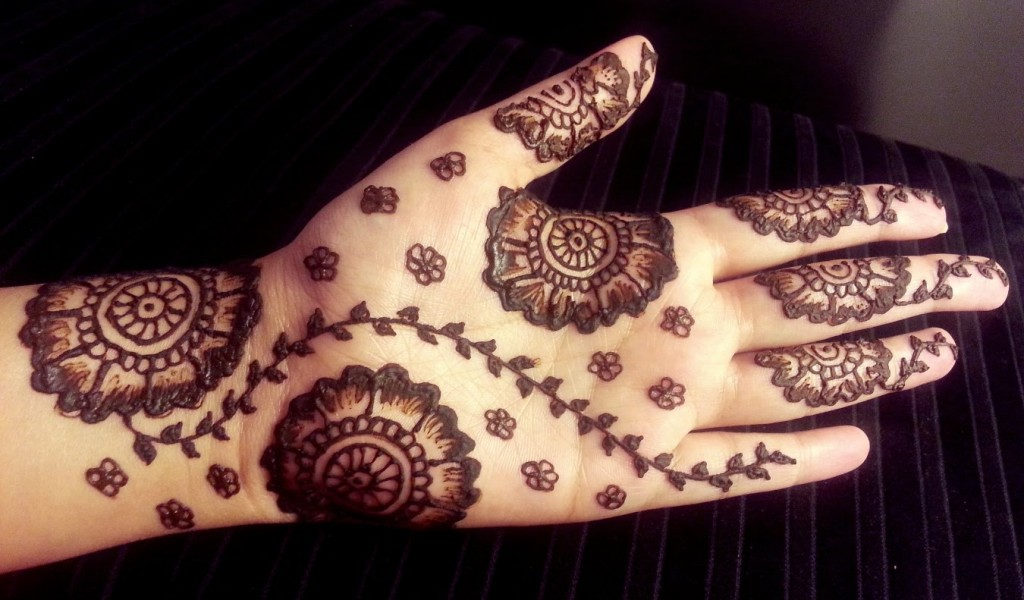 Simple Henna Designs Beginners