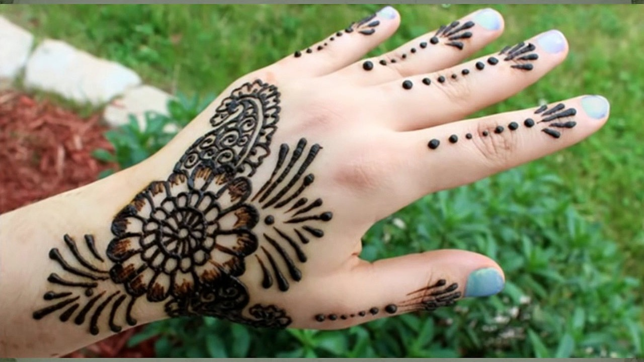 30 Simple Henna Designs For Beginners 0026