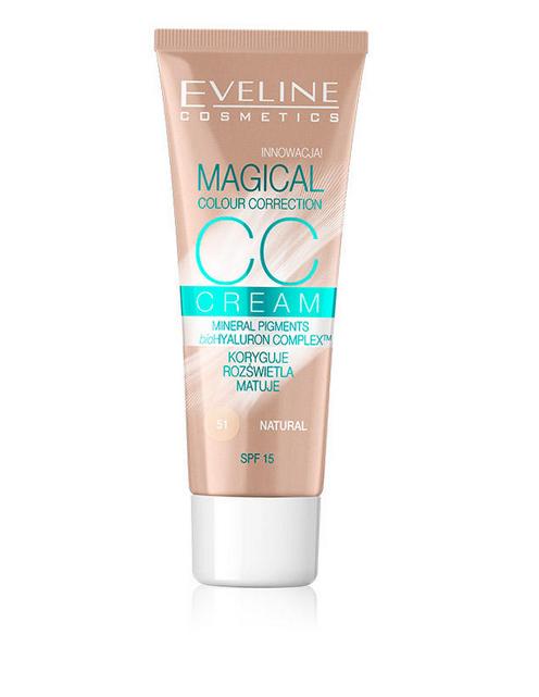Eveline Magical CC Cream - Natural Eveline Magical CC Cream Natural