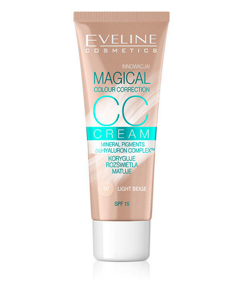 Eveline Magical CC Cream - Light Beige Eveline Magical CC Cream