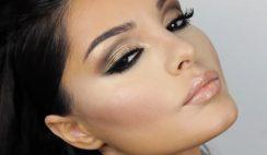 Kim Kardashian Bridal Makeup Looks For Brown Eyes 2016