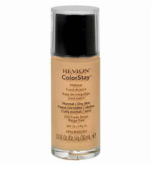 Revlon Color Stay Makeup- Fresh Beige Foundation For Normal/Dry Skin Revlon Color Stay Makeup Fresh Beige Foundation For Normal Dry Skin