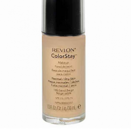 Revlon Color Stay Makeup- Sand Beige Foundation For Normal/Dry Skin