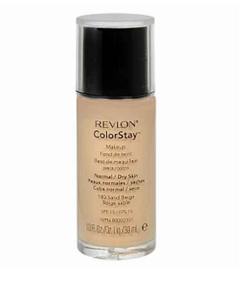 Revlon Color Stay Makeup- Sand Beige Foundation For Normal/Dry Skin Revlon Color Stay Makeup Sand Beige Foundation For Normal Dry Skin