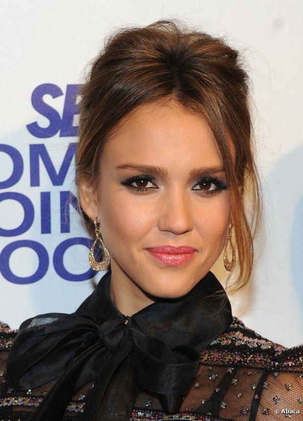 16+ Jessica Alba Hairstyles In 2012 Golden Globe Look