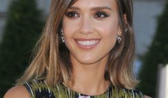 16+ Jessica Alba Hairstyles In 2015 Short Sleek Look