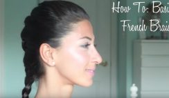 French Braid Steps For Beginners - Videos Tutorial Cover