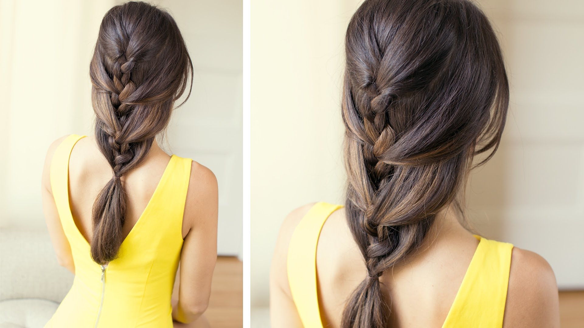 French Braid Steps For Beginners – Video Tutorial