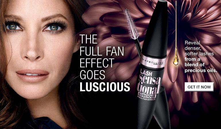 Maybelline Mascara Review – Lash Sensational Luscious Washable