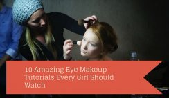 10 Amazing Eye Makeup Tutorials