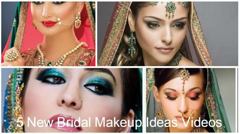 5 New Bridal Makeup 2016 Ideas Videos