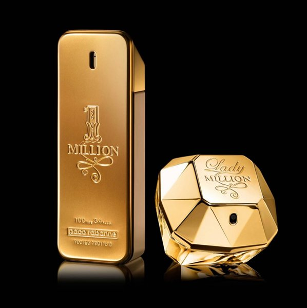 Top 10 Best Perfumes For Men In Pakistan-One Million from Pace