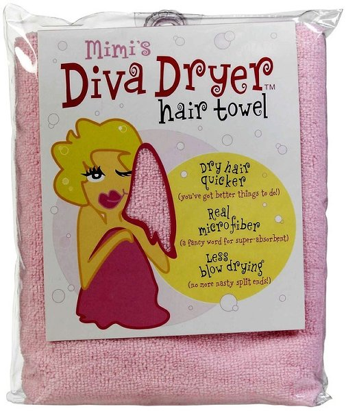 Top 10 Best Products For Curly Hair-Mimi's Diva Dryer Hair Towel
