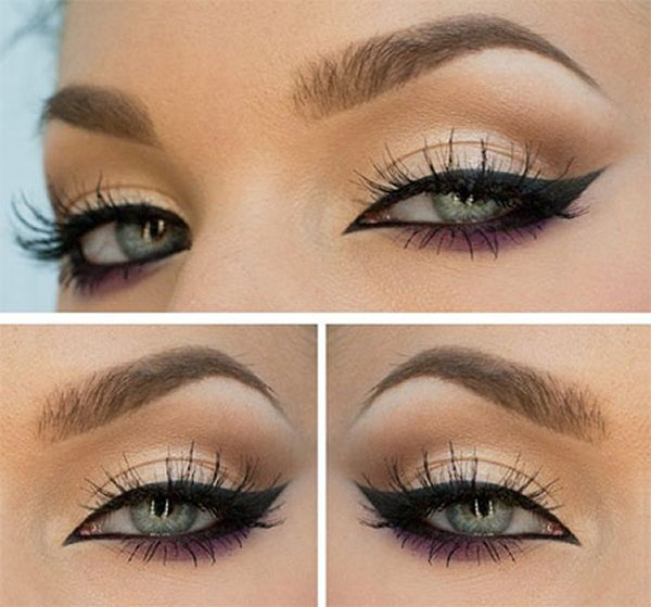 Top 10 Eyeliner Styles For Small And Big Eyes-Cat Eye Eyeliner Styles