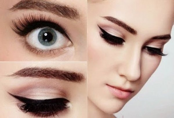 Top 10 Eyeliner Styles For Small And Big Eyes-Retro Eyeliner Styles