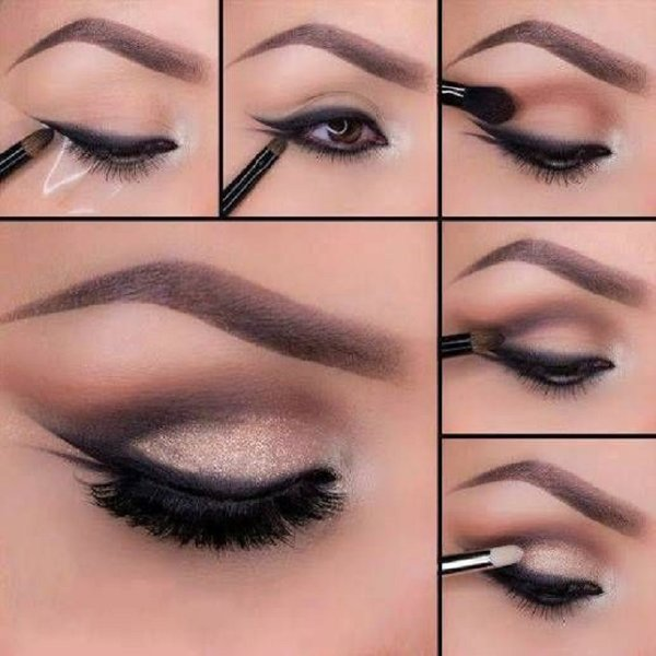 Top 10 Eyeliner Styles For Small And Big Eyes-Smudged Eyeliner Styles