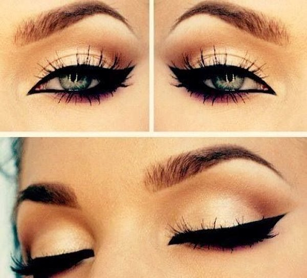 Top 10 Eyeliner Styles For Small And Big Eyes-Winged Eyeliner Styles