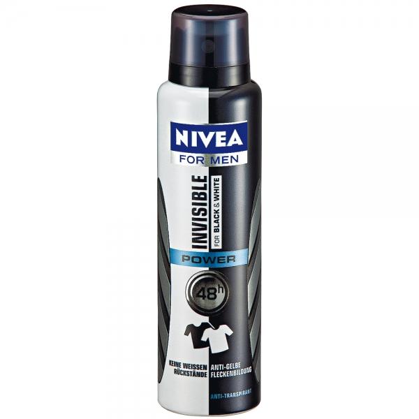 Top 10 Best Natural Deodorant For Men – Nivea Invisible For Black & White Deodorant For Men