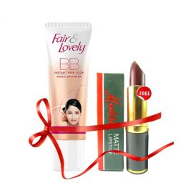 Fair & Lovely FREE Medora Lipstick with Fair & Lovely BB cream 40 gm By Fair & Lovely  (2)   Key Features