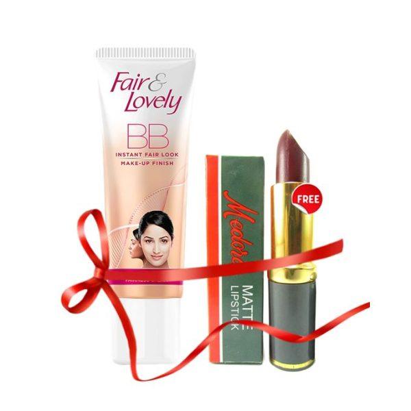 Fair & Lovely FREE Medora Lipstick with Fair & Lovely BB cream 40 gm