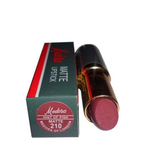 Medora Lipsticks Matte Hint Of Pink 210 Medora Lipsticks Matte Hint Of Pink 210