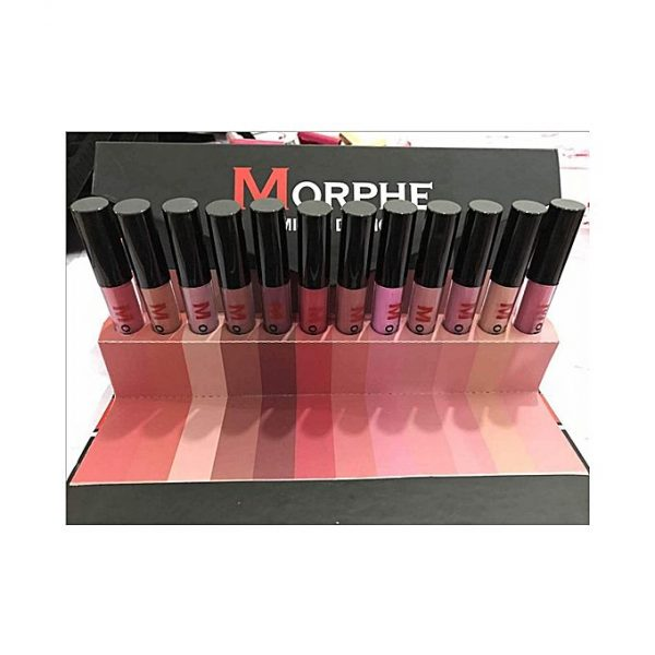 Morphe Pack of 12 - Long Lasting Matte Liquid Lipstick Morphe Pack of 12 Long Lasting Matte Liquid Lipstick
