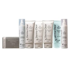 Derma Clear Advance Whitening Treatment Facial Kit Medium