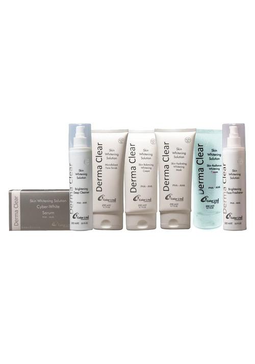 Derma Clear Advance Whitening Treatment Facial Kit Medium