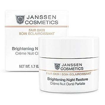 Janssen White Secrets Brightening Night Restore Cream