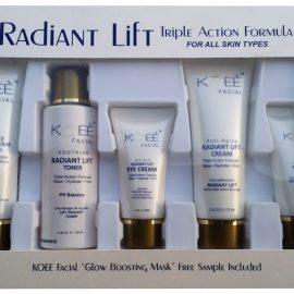 Koee Radiant LIft Facial Kit