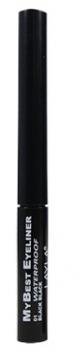 Layla My Best Waterproof Liquid Eyeliner Black 1